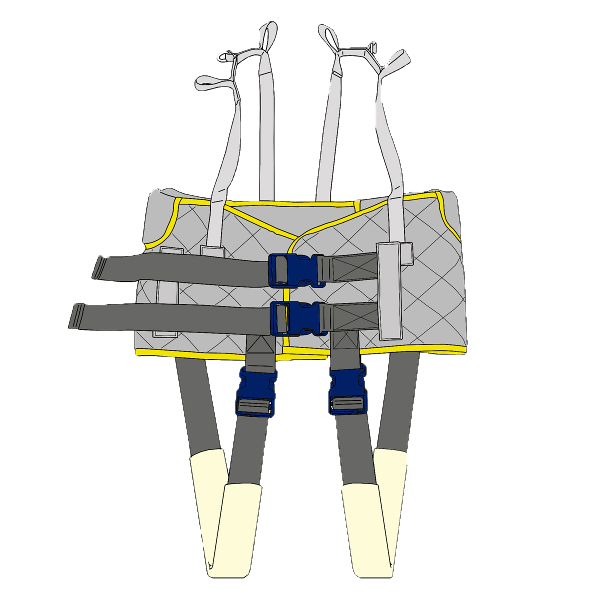 Gait Training Equipt - Ceiling Hoist with Walking Harness | OpeMed