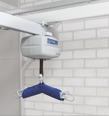 compact ceiling hoist