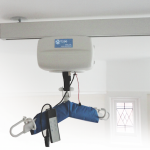 ceiling hoist in situ