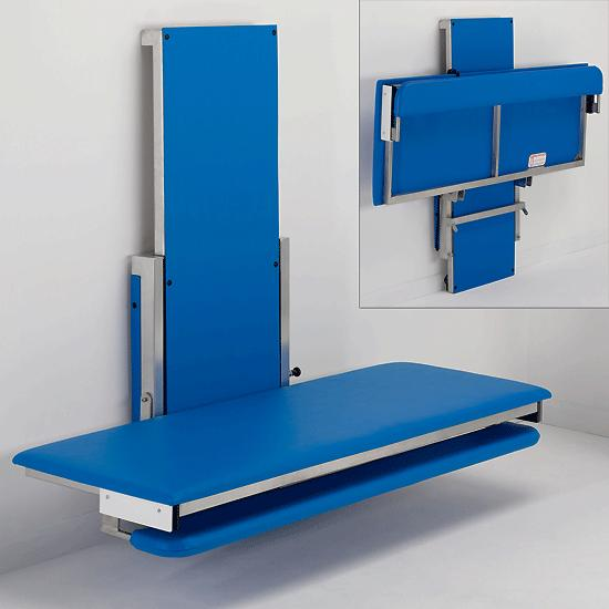 Wall Mounted Height Adjustable Changing Table Opemed
