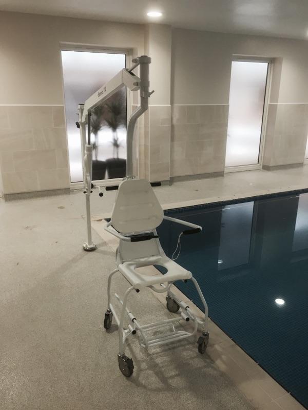 Swimming Pool Hoist