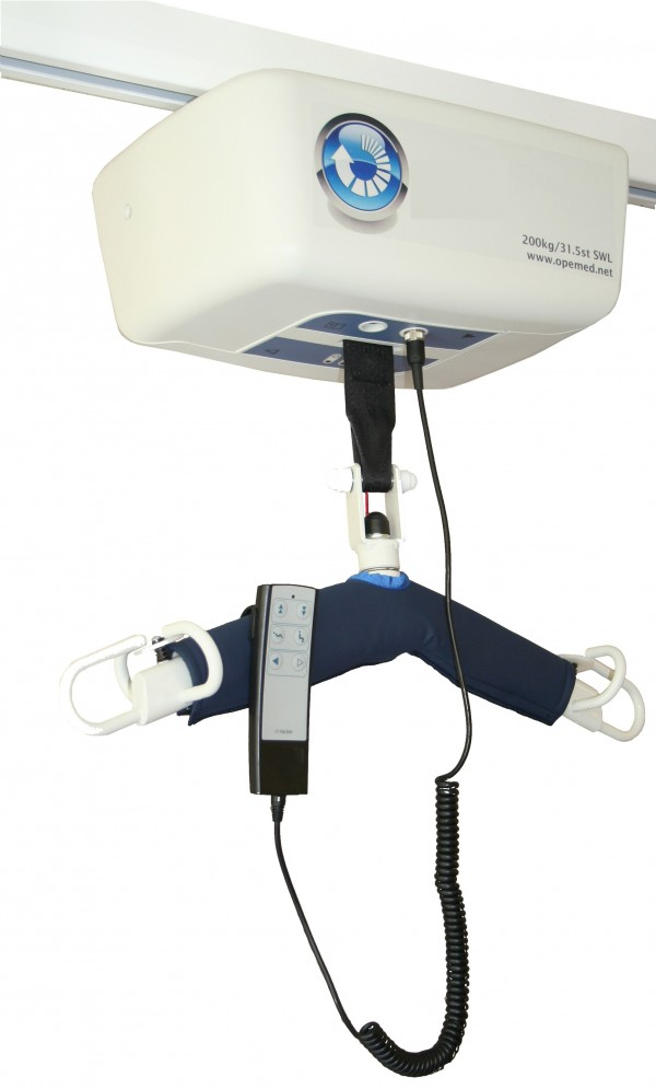 Bariatric ceiling hoist