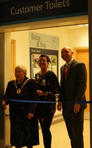 official opening with mayor