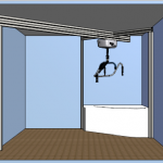 ceiling track hoist solution