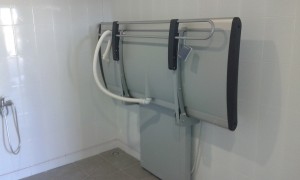 height adjustable changing table