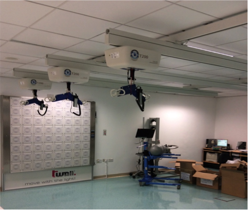 Gait Training Equipment Ceiling Hoist With Walking