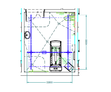 what is an XY ceiling hoist system or h system