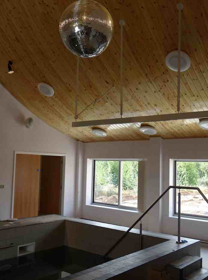 Track Sloping Ceiling