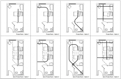 ceiling track layout examples