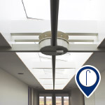hospice ceiling track install