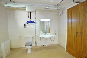 Roof Mounted Shower Curtain Rail