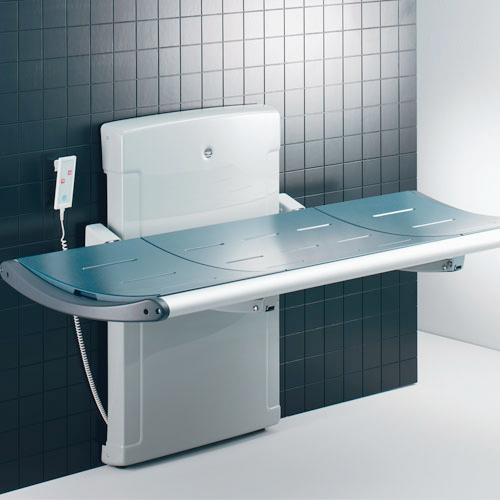 Integrated changing table