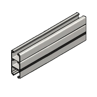 140mm Straight Ceiling Track