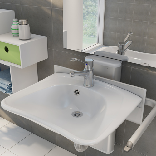 Pr4750 Height Adjustable Washbasin Opemed
