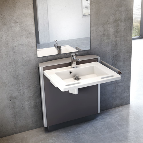 Pr4550 Manual Height Adjustable Washbasin Opemed