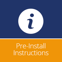 Vanna Pre-Install Instructions