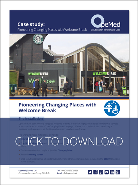 Pioneering Changing Places with Welcome Break