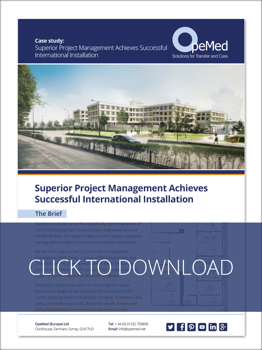 Superior Project Management Achieves Successful International Installation