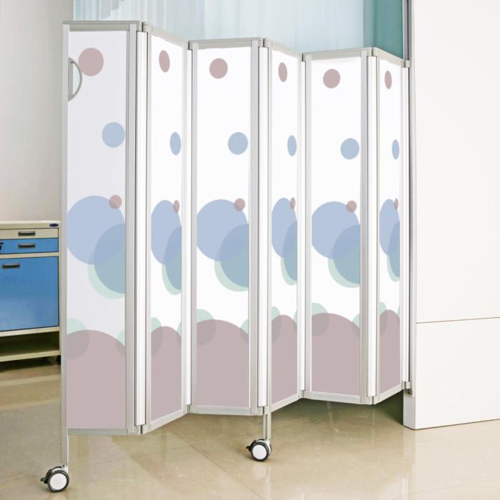 Ocura Wall Mounted Privacy Screen - Bubbles