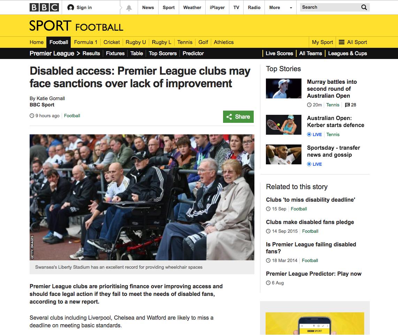 Premier League clubs may face sanctions over lack of improvement