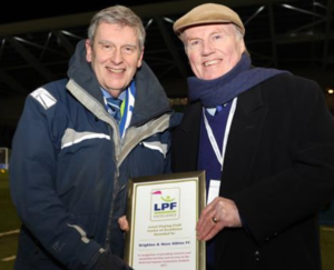 Brighton and Hove FC Scores Access and Inclusion Award