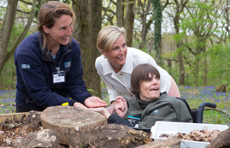 3rd Visit from Royal Family at Surrey Wildlife Trust Changing Places