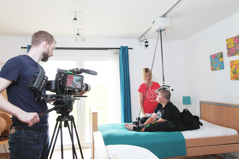 First Day of Filming At Local Holiday Home Complete For OpeMed