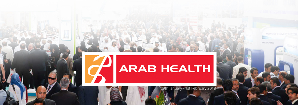 Attending Arab Health 2018? Book your appointment now.