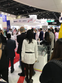 OpeMed Attend Arabhealth 2018 - The Sheikh arrive