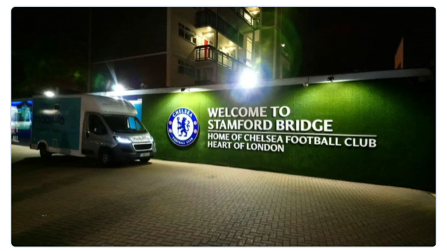 Chelsea FC Stamford Bridge Stadium with Changing Places and Mobiloo