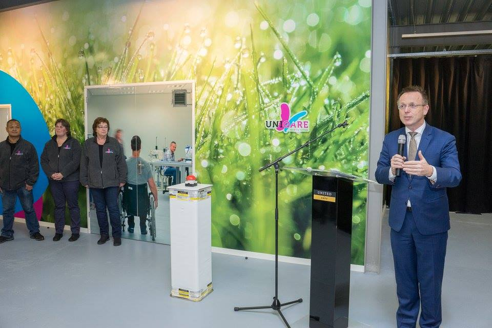 King's Commissioner Opens OpeMed Sister Company in Groningen