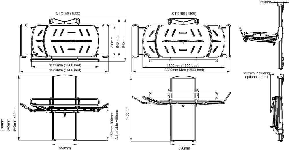 CTX Dimensions