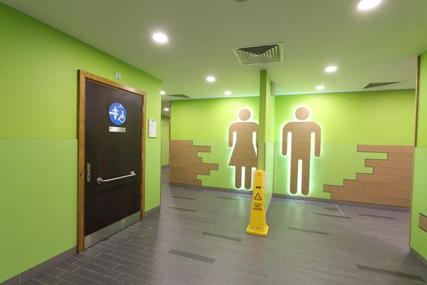 Welcome Break Fleet Services - Changing Places door