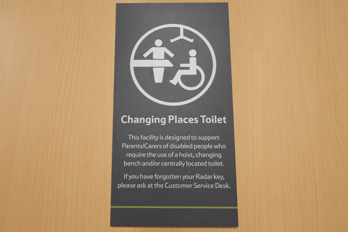 Aveso help disabled shoppers with new Changing Places