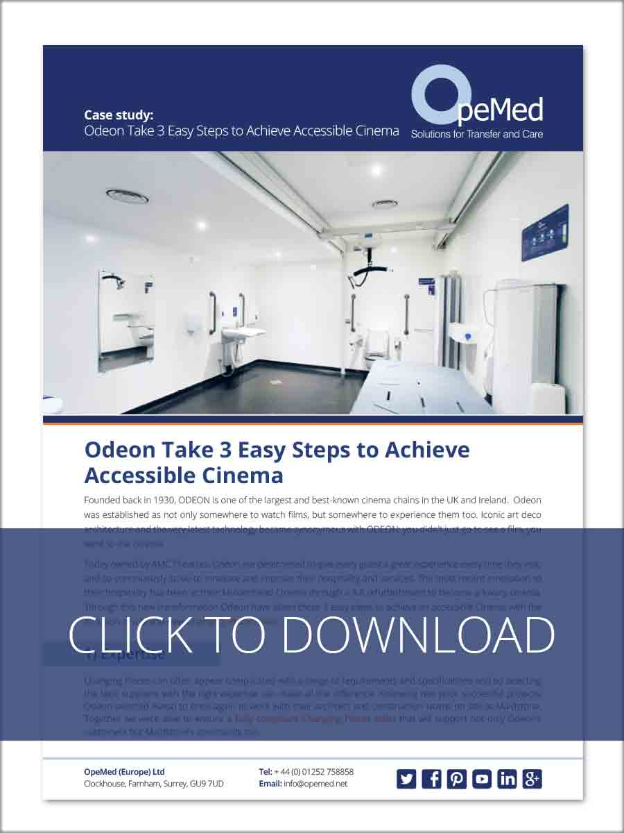 Odeon Take 3 Easy Steps to Achieve Accessible Cinema