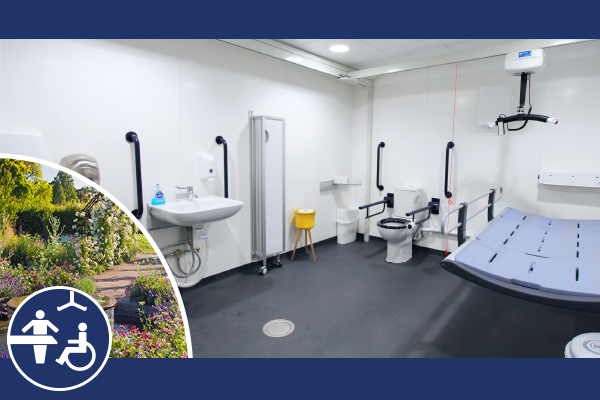 Wander Wisley without worry; Brand new Changing Places toilet unveiled