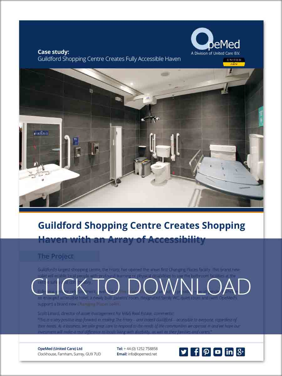 Guildford Shopping Centre Creates Shopping Haven with an Array of Accessibility
